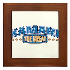 The Great Kamari Framed Tile