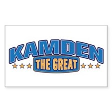 The Great Kamden Decal