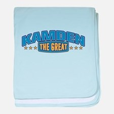 The Great Kamden baby blanket