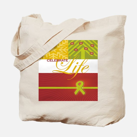 Celebrate Life Holiday Collection Tote Bag