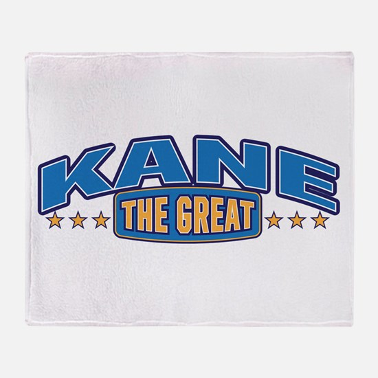 The Great Kane Throw Blanket