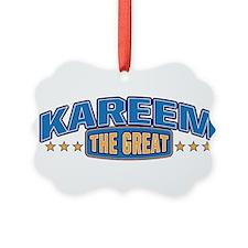 The Great Kareem Ornament