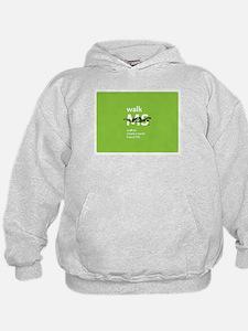 Green- Walk MS logo Hoodie