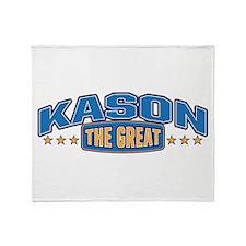 The Great Kason Throw Blanket