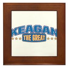 The Great Keagan Framed Tile