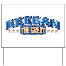 The Great Keegan Yard Sign