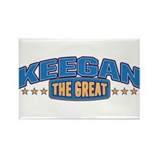 The Great Keegan Rectangle Magnet