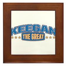 The Great Keegan Framed Tile