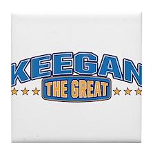 The Great Keegan Tile Coaster