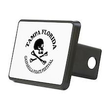Tampa Florida - Pirate Design. Hitch Cover