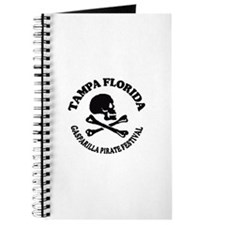 Tampa Florida - Pirate Design. Journal
