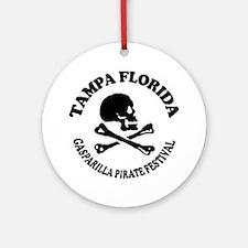 Tampa Florida - Pirate Design. Ornament (Round)