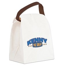 The Great Kenny Canvas Lunch Bag