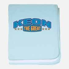 The Great Keon baby blanket