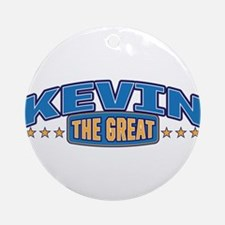The Great Kevin Ornament (Round)