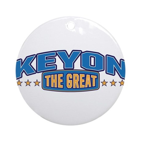 The Great Keyon Ornament (Round)