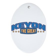 The Great Keyon Ornament (Oval)