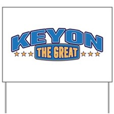 The Great Keyon Yard Sign