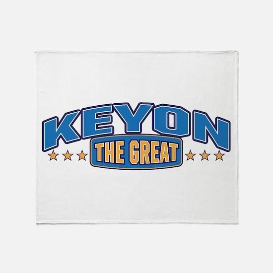 The Great Keyon Throw Blanket