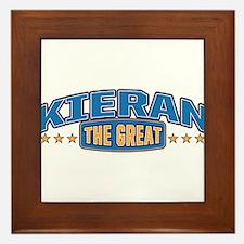 The Great Kieran Framed Tile