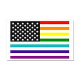 """Gay pride 12"""" x 20"""""""