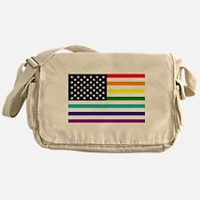 UNITED STATES OF EQUALITY RAINBOW FLAG Messenger B