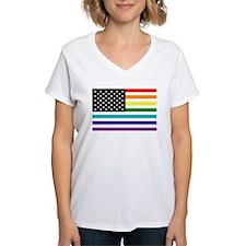 UNITED STATES OF EQUALITY RAINBOW FLAG T-Shirt