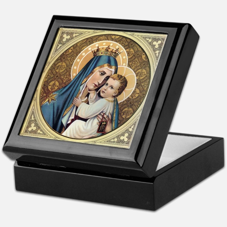 Decorative Keepsake Box: Catholic Keepsake Boxes, Catholic Jewelry Boxes