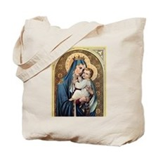 Cute Virgin mary Tote Bag