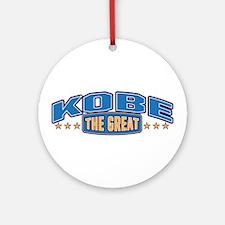 The Great Kobe Ornament (Round)