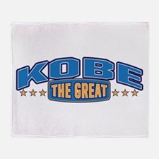 The Great Kobe Throw Blanket
