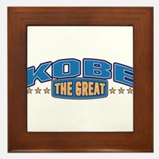 The Great Kobe Framed Tile