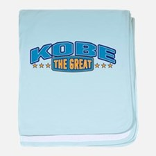 The Great Kobe baby blanket