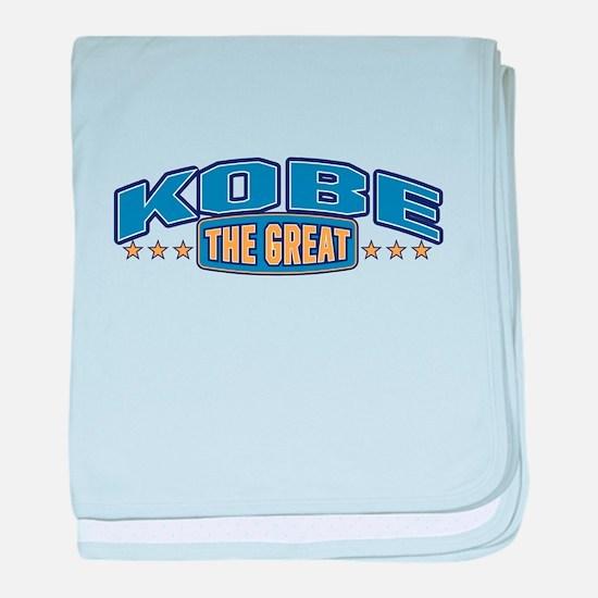 The Great Kobe baby blanket