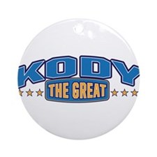 The Great Kody Ornament (Round)