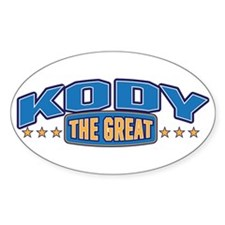 The Great Kody Decal