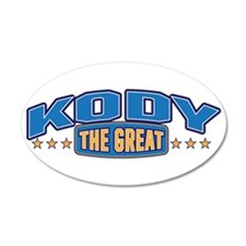 The Great Kody Wall Decal