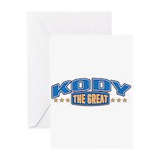 The Great Kody Greeting Card