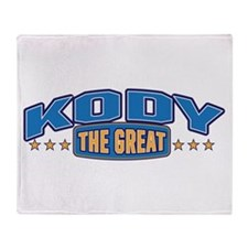 The Great Kody Throw Blanket