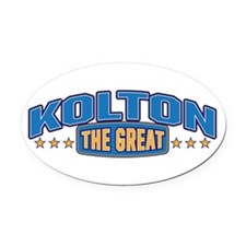 The Great Kolton Oval Car Magnet