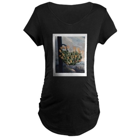 The Aloe, The Temple of Flora Maternity T-Shirt