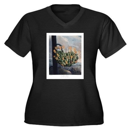 The Aloe, The Temple of Flora Plus Size T-Shirt