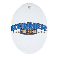 The Great Konner Ornament (Oval)