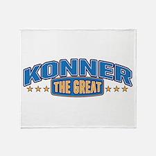 The Great Konner Throw Blanket