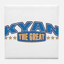 The Great Kyan Tile Coaster