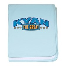 The Great Kyan baby blanket