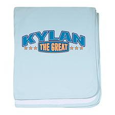 The Great Kylan baby blanket