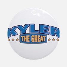 The Great Kyler Ornament (Round)