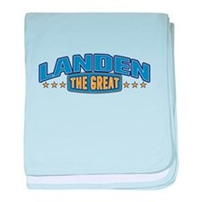 The Great Landen baby blanket