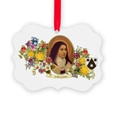 St. Therese of Lisieux Ornament